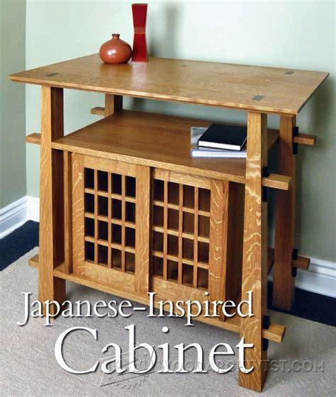 japanese kitchen cabinet japanese cabinet plans woodarchivist