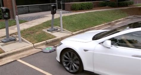 Tesla Wireless Charging Wireless Charging For Tesla Model S Dpccars