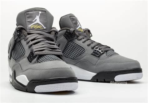 The Air 4 Cool Grey by Air 4 Cool Grey 308497 007 2019 Release Date Sneakernews