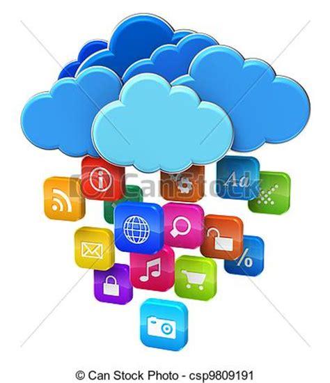 calcolo mobilita clipart di concetto calcolare nuvola mobilit 224 nuvola