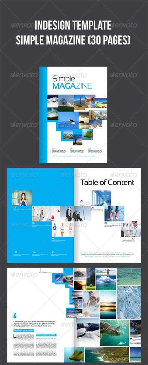 34 High Quality Psd Indesign Magazine Templates Web Graphic Design Bashooka Indesign Web Page Template
