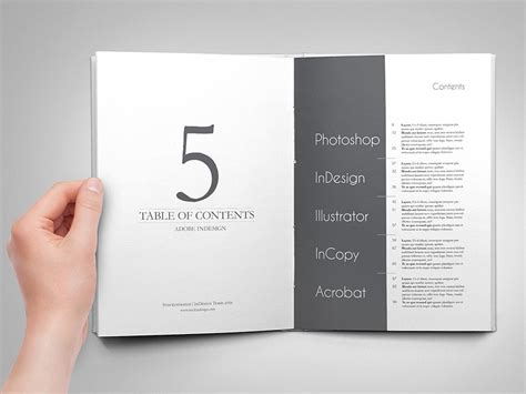 table of contents template powerpoint table of contents powerpoint