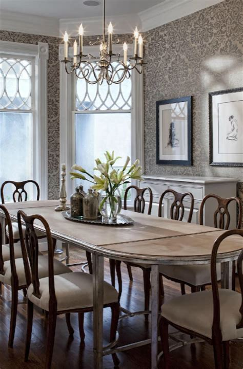 Wallpaper In Dining Room by Elegant Wallpaper For Dining Room Modern Diy Art Design