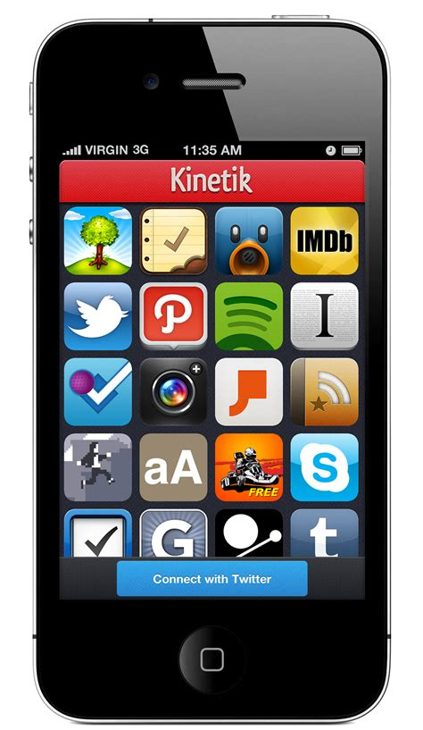 Find Apps Kinetik An Iphone App That Lets You Find And Great Iphone Apps