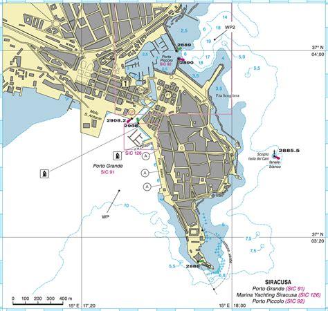 siracusa porto siracusa porto grande descrizione dell approdo