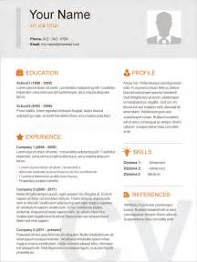 Stunning Resume Templates by Exles Of Resumes Resume Template Simple Student High
