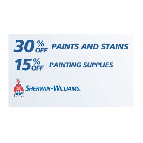coupons for sherwin williams paint store free printable coupons sherwin williams coupons