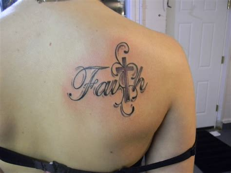 faith with cross tattoo faith tattoos designs ideas and meaning tattoos for you