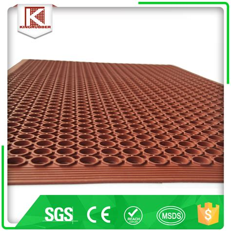 workshop carpet driveway rubber mats permeable rubber mat