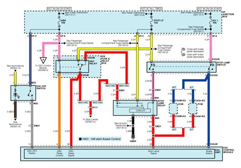 hyundai accent circuit diagram esc 2 schematic diagrams esc electronic stability