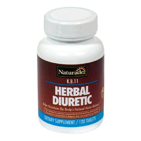 Diuretic Also Search For Naturade Herbal Diuretic K B 11 120 Count Pack Of 3 Health Point Marthealth
