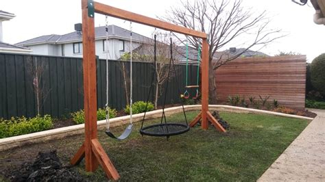patio swings australia best quality timber play equipment aarons outdoor living