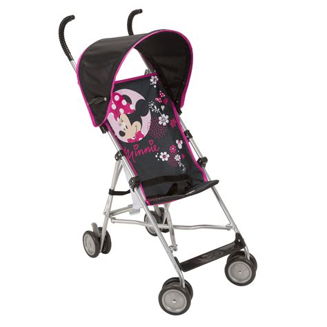 minnie mouse stroller disney minnie pop umbrella stroller with canopy