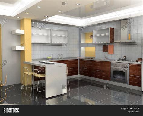 modern kitchen interior 3d rendering creativity rbservis