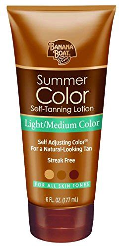 banana boat self tanner medium banana boat self tanning lotion deep dark