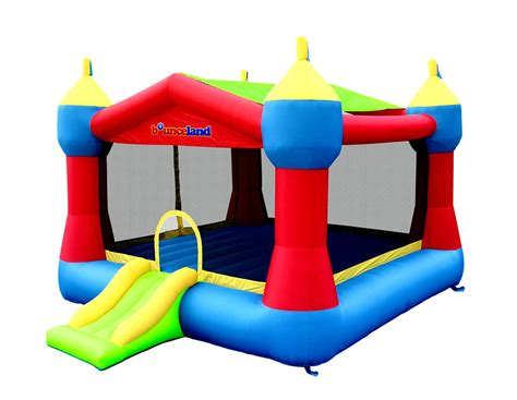 castle bounce house amazon com bounceland inflatable party castle bounce house bouncer toys games