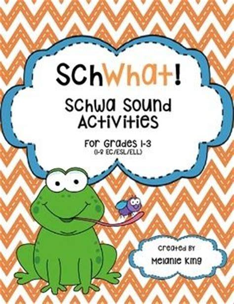 schwa pattern words schwhat schwa sound activities language pictures and