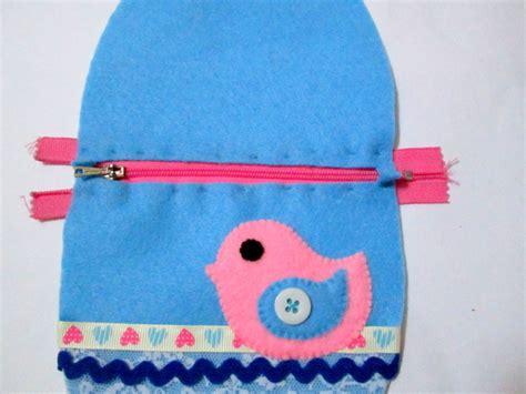 Dompet Panjang Pita Gantungan Cat kreasi kain flanell cara membuat dompet serbaguna dari