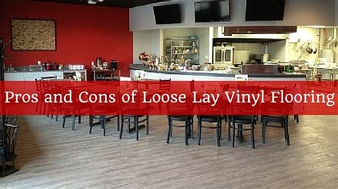 Pros and Cons of Loose Lay Vinyl Flooring
