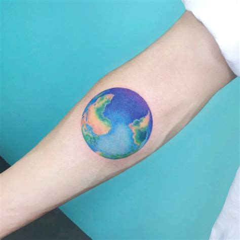 earth tattoo on wrist 21 earth tattoo designs ideas design trends premium