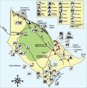 florida state park map st state park florida state parks