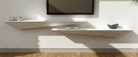 mensole porta tv mensola consolle porta tv legno corian arco arredo