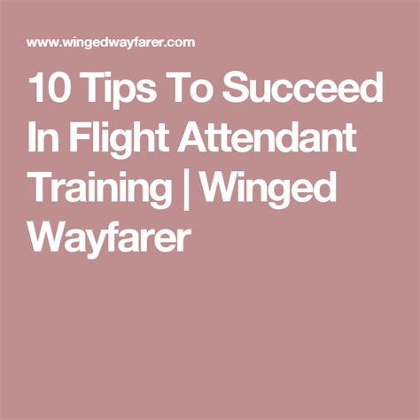 cabin crew information 10 tips to succeed in flight attendant winged