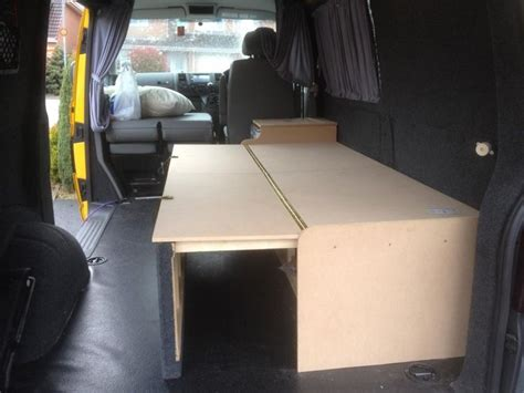 vw t5 interior layout ideas show us your custom made bed layouts page 2 vw t4