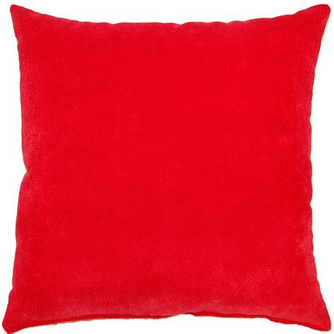 red throw pillows for couch cosmo scarlet red 17 inch throw pillows set of 2