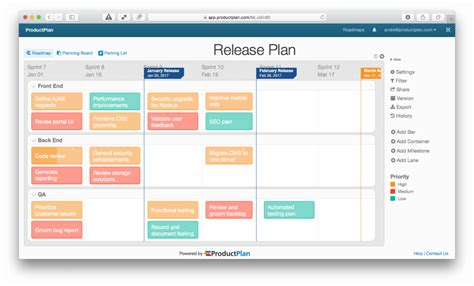 software release management plan template roadmap template exles they re not just for products