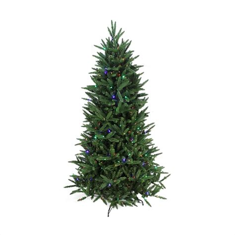 northlight 7 5 pine artificial christmas tree with clear