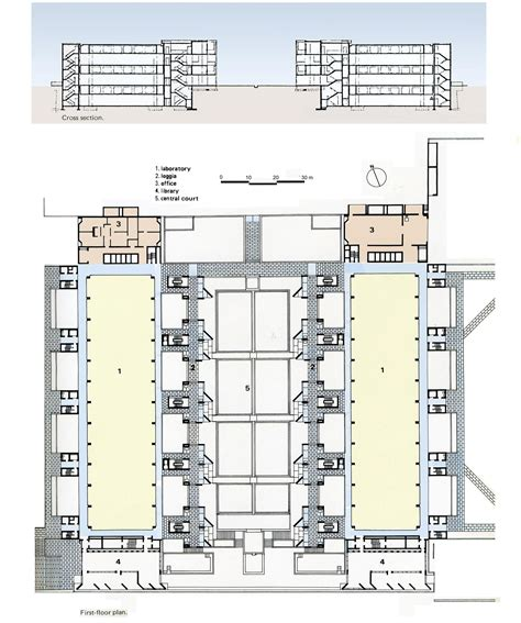 louis kahn floor plans 1000 images about salk institute 09 plans on pinterest