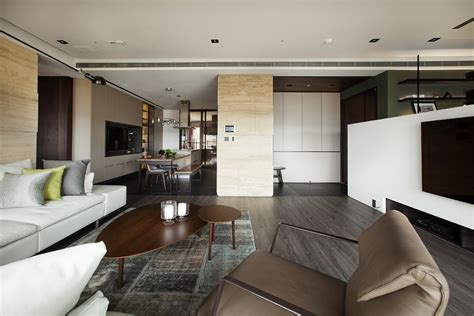 asian interior design trends in two modern homes with