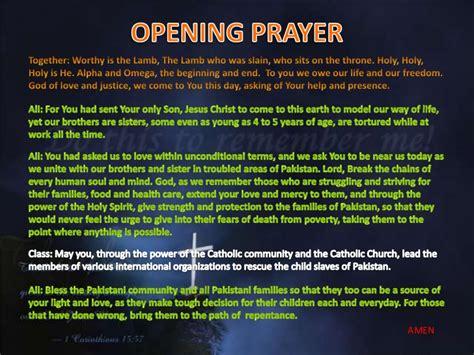 sample prayer for the church