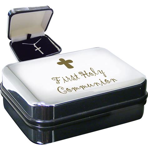 holy communion gifts for boys holy communion cross necklace in gift box for boy or