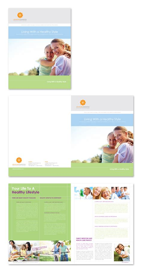 healthcare management brochure template dlayouts graphic