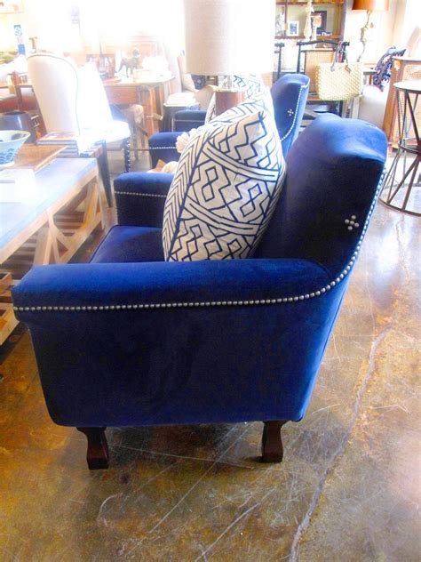 blue velvet chair cococozy find a luxe blue velvet chair cococozy