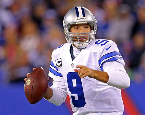 tony romo romo leads late rally as cowboys beat beckham giants usa today sports wire