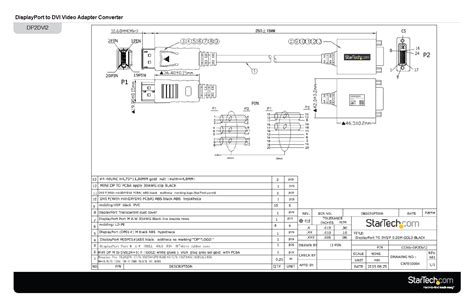 wiring diagram dvi to vga adapter hdmi cable schematic