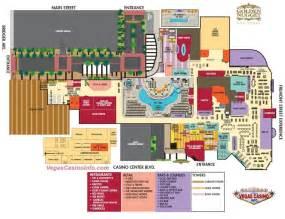 Golden Nugget Floor Plan by The Golden Nugget Casino Map