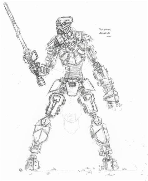 Lego Bionicle Coloring Page Coloring Home Bionicle Coloring Pages