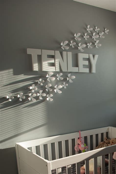 Name Decorations For Nursery Name Decor For Nursery Thenurseries
