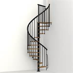 shop arke nice1 51 in x 10 ft black spiral staircase kit at lowes com
