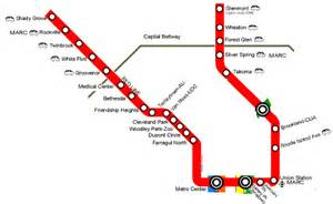 Metro Redline Map by 301 Moved Permanently