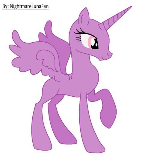 mlp base by shadeila on deviantart pony alicorn base thekindproject
