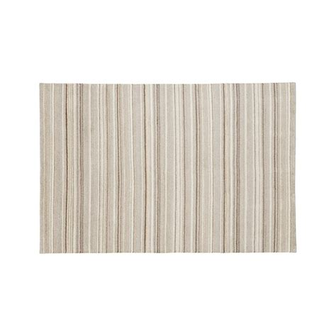 crate and barrel striped rug lynx striped knotted wool 6 x9 rug crate and barrel
