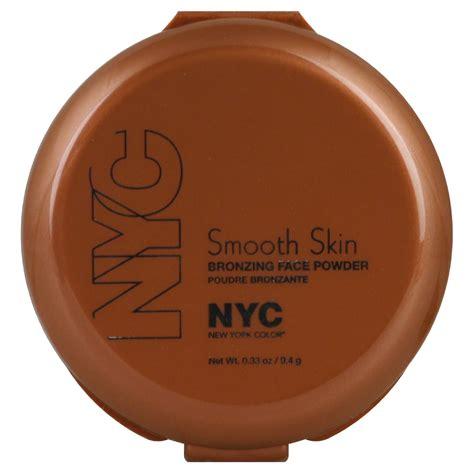 Nyc New York Color Smooth Skin Pressed Powder Translucent Walmart New York Color Smooth Skin Bronzing Powder 0 33 Oz