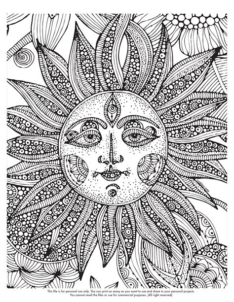 Free Coloring Pages Of Trippy Adult Trippy Printable Coloring Pages