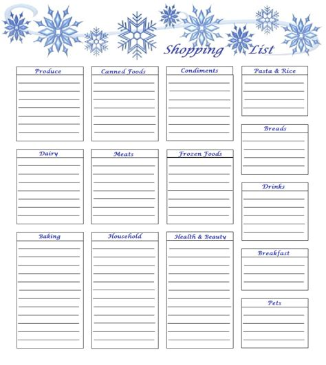 7 best images of pretty printable shopping list 7 best images of pretty printable shopping list