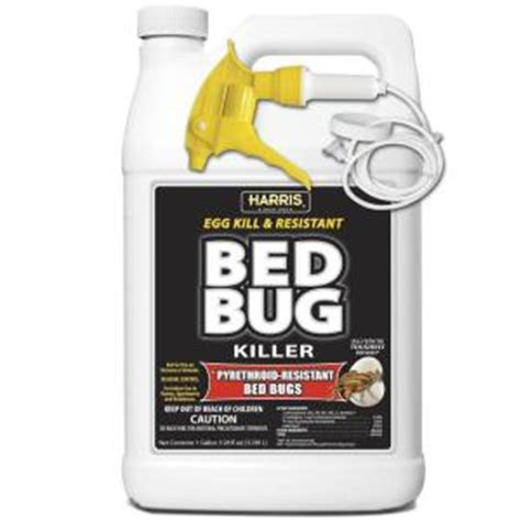harris bed bug spray reviews harris 1 gal ready to use egg kill and resistant bed bug